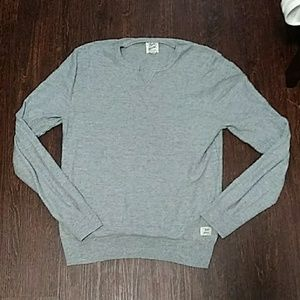 Men's Lucky Brand Long Sleeve Size Small Gray